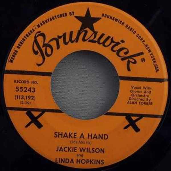 WILSON,  JACKIE - Shake A Hand / Say I Do - 7inch x 1