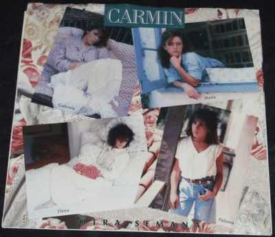 CARMIN - Otra Semana / Piel De Terciopelo W/PS - 7inch x 1