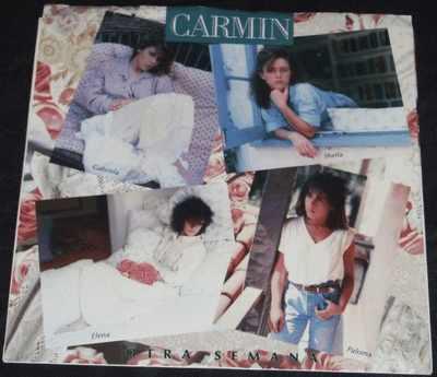 CARMIN - Otra Semana / Piel De Terciopelo W/PS - 45T x 1