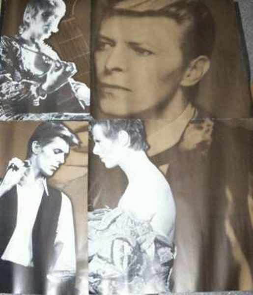 BOWIE,  DAVID - Sound and Vision - Poster / Affiche
