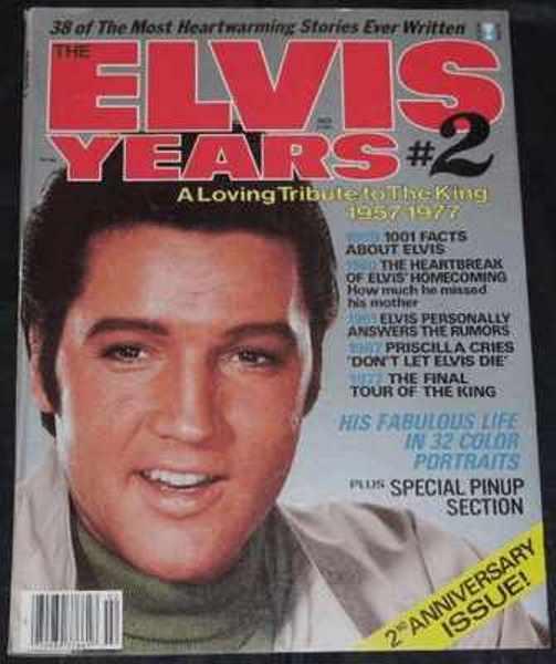 PRESLEY,  ELVIS - The Elvis Years # 2 Magazine - Magazine