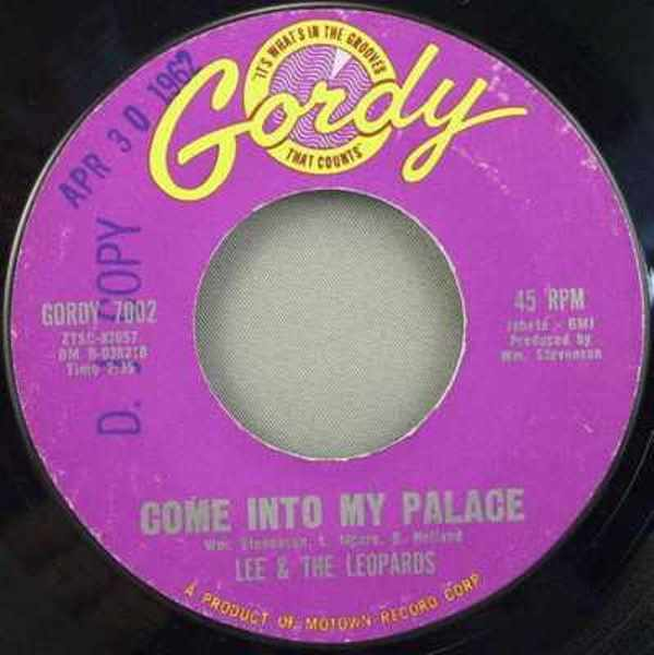 LEE & THE LEOPARDS - Come Into My Place / Trying To Make It - 45T x 1