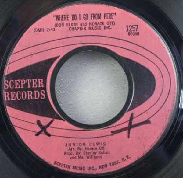 LEWIS,  JUNIOR - Where Do I Go From Here / Raise Your Hand - 7inch x 1