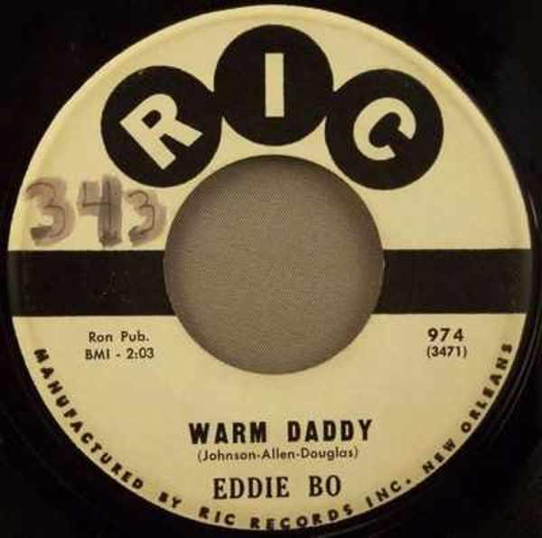 BO,  EDDIE - Ain't It The Truth Now / Warm Daddy - 7inch x 1