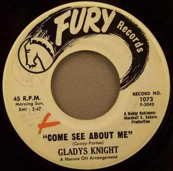 KNIGHT,  GLADYS - Come See About Me / I Want That Kind Of Love - 7inch x 1