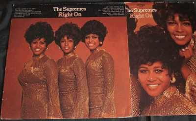SUPREMES - Right On - LP