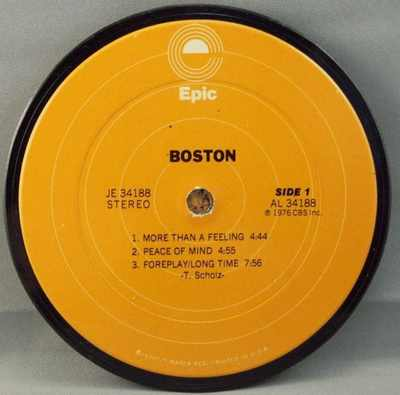 BOSTON - Self Titled Boston - Drink Coaster