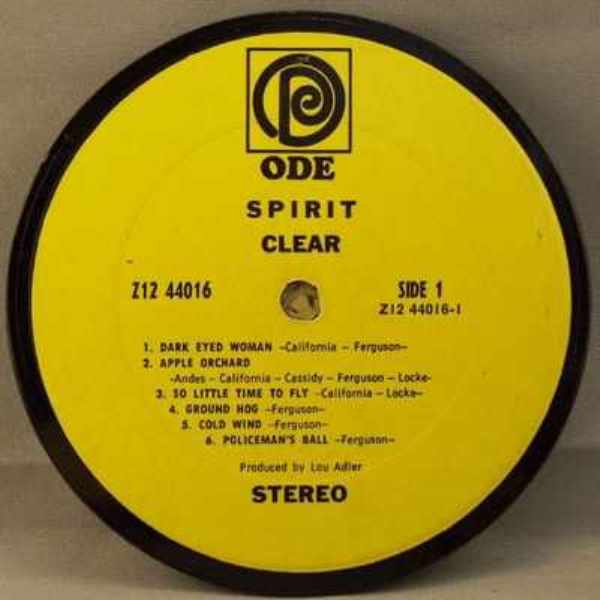 SPIRIT - Clear - Drink Coaster
