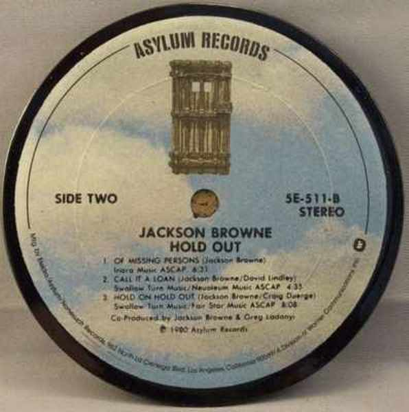 BROWNE,  JACKSON - Hold Out - Drink Coaster