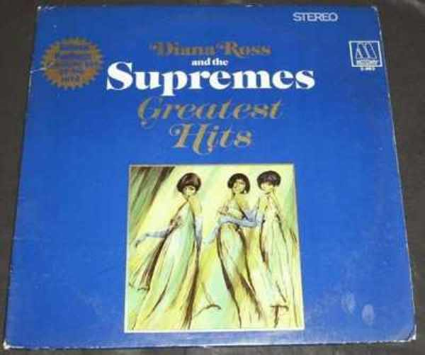 SUPREMES - Diana Ross And The Supremes Greatest Hits - LP