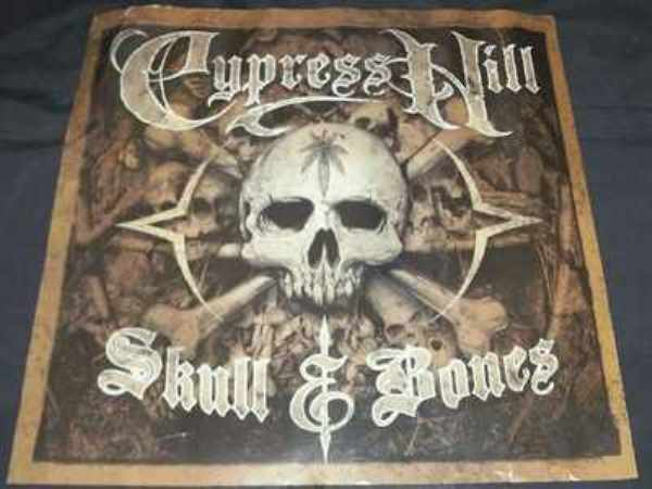 CYPRESS HILL - Skull & Bones - ポスター