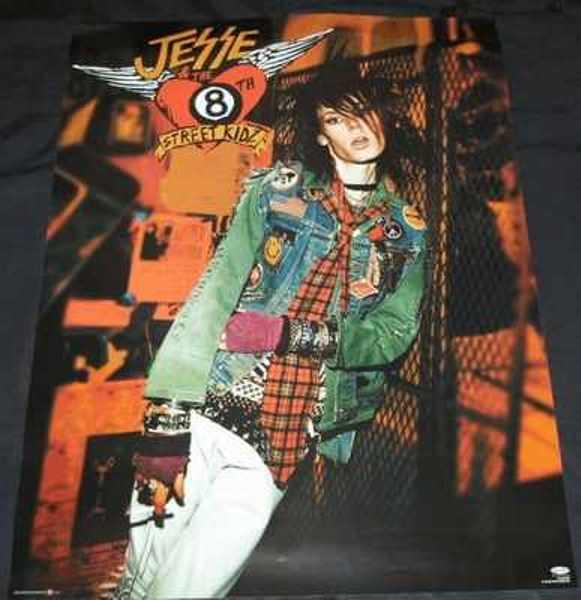 JESSE & THE 8TH STREET KIDZ - Self Titled Jesse & The 8th Street Kidz - ポスター