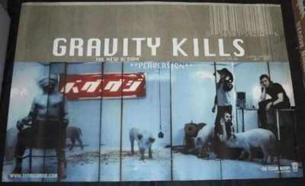 GRAVITY KILLS - Perversion - ポスター