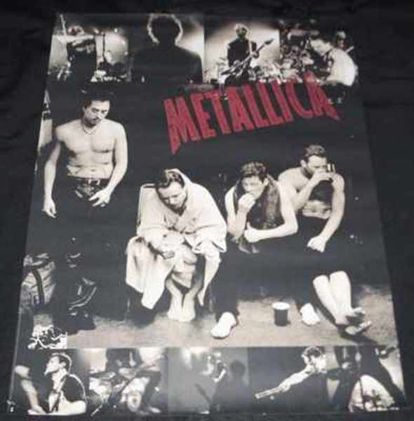 METALLICA - Self Titled 1998 Metallica - ポスター