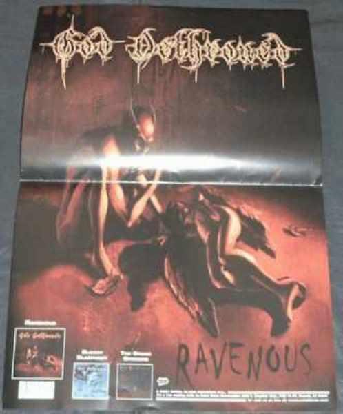 GOD DETHRONED - Ravenous - ポスター