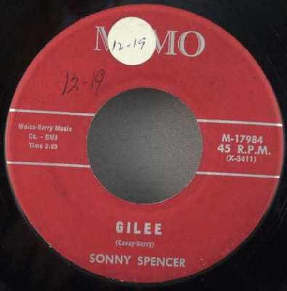 SPENCER,  SONNY - Oh Boy / Gilee - 7inch x 1