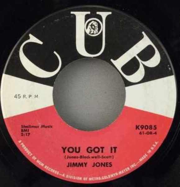 JONES,  JIMMY - You Got It / I Told You So - 7inch x 1