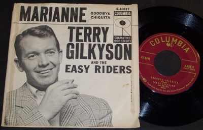 GILKYSON,  TERRY - Marianne / Goodbye Chiquita  W/PS - 7inch x 1