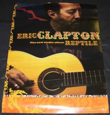 CLAPTON,  ERIC - Reptile - ポスター