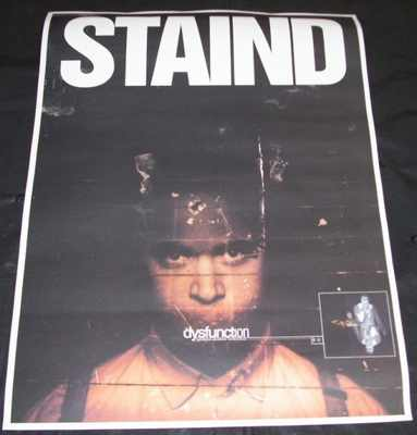 STAIND - Dysfunction - Poster / Affiche