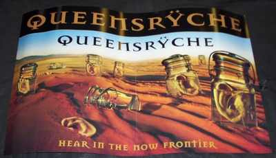 QUEENSRYCHE - Here In The Now Frontier - Poster / Affiche
