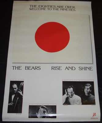 BEARS - Rise and Shine - Poster / Affiche
