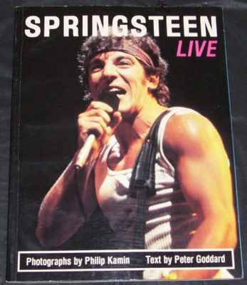 SPRINGSTEEN,  BRUCE - Springsteen Live - Magazine