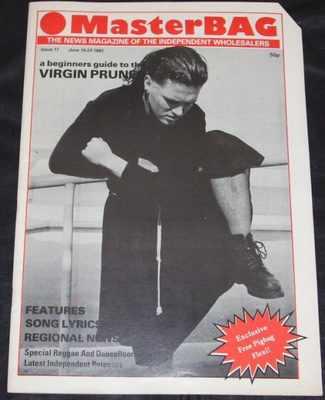 MASTERBAG MAGAZINE W/PIGBAG FLEXI - Issue 11 June 10-23 1982 - Magazine