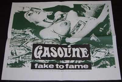 GASOLINE - Fake To Fame - Poster / Affiche