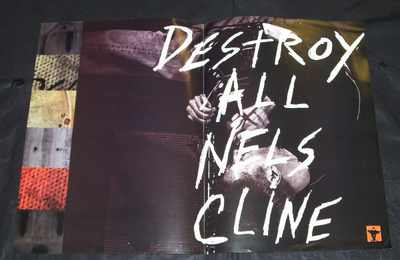 CLINE,  NELS - Destroy All - Poster / Affiche