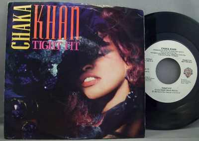 KHAN,  CHAKA - Tight Fir Vinyl  Promo - 7inch x 1