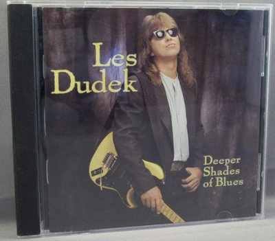 DUDEK,  LES - Deeper Shades Of Blues - CD