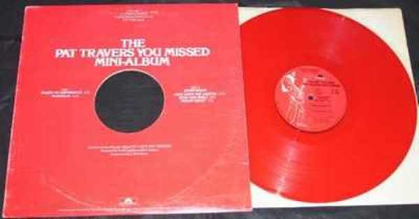 TRAVERS,  PAT - Pat Travers You Missed Mini-Album - 33T
