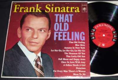 Sinatra, Frank - That Old Feeling Vinyl LP - Click Image to Close