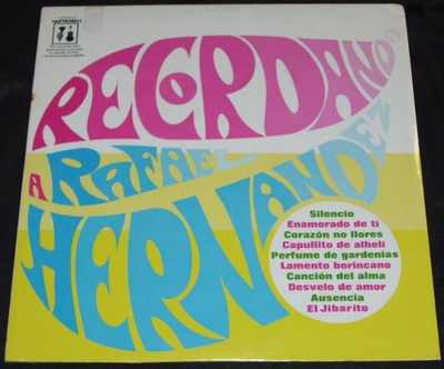 HERNANDEZ,  RAFAEL - Recordando a Rafael Hernandez - LP