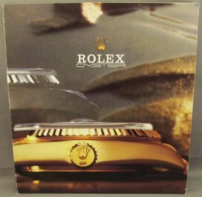 ROLEX - Rolex Oyster Watch Catalog 1980s - Magazine