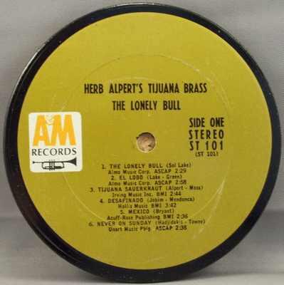 ALPERT,  HERB & THE TIJUANA BRASS - Lonely Bull - Drink Coaster