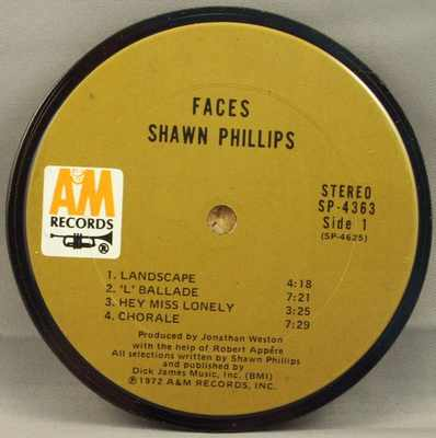 PHILLIPS,  SHAWN - Faces - 時計