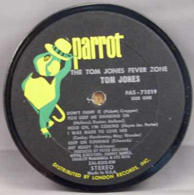 JONES,  TOM - Fever Zone - 時計