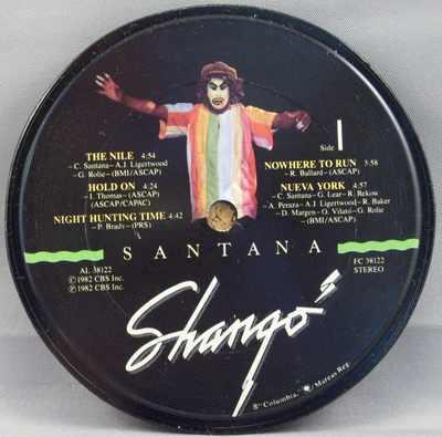 SANTANA - Shango - 時計