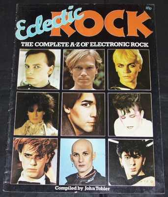 ECLECTIC ROCK MAGAZINE - Complete A-Z of Electronic Rock - 雑誌