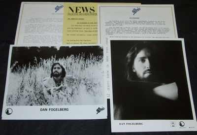 Fogelberg, Dan - Phoenix 1979 Promo Press Kit - Click Image to Close