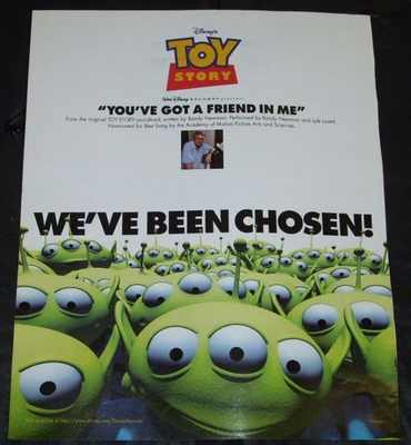 NEWMAN,  RANDY - You've Got A Friend In Me (Toy Story) Billboard Magazine Trade Ad - Others