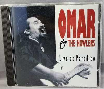 OMAR AND THE HOWLERS - Live At Paradiso - CD