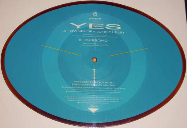 YES - Owner Of A Lonely Heart / Our Love - 45T x 1