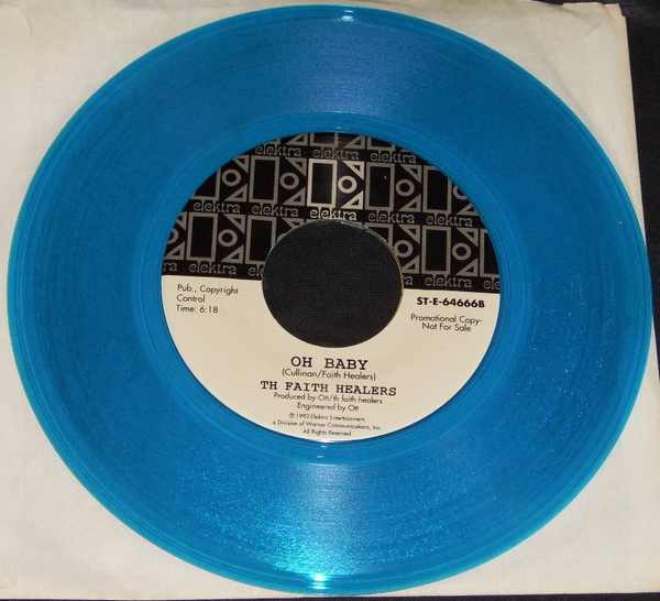 FAITH HEALERS - My Loser / Oh Baby - 45T x 1