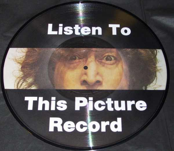 LENNON,  JOHN - Listen To This Picture Record - 33T