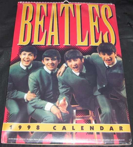 BEATLES - 1998 Calendar - Calendrier