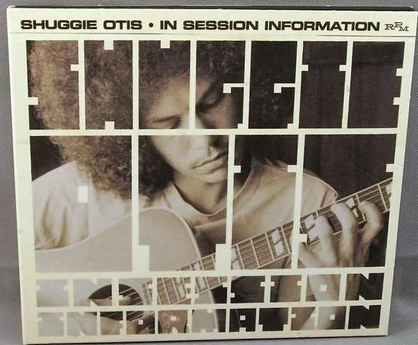 OTIS,  SHUGGIE - In Session Information - CD