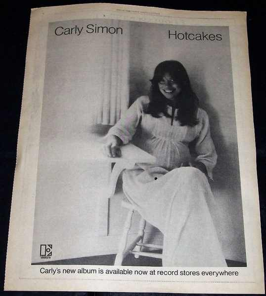 SIMON,  CARLY - Rolling Stone Magazine Ad 1974 - Others